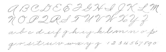 Taken withpermission from Mike Sull's Spencerian Scriptand Ornamental ...
